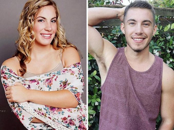 Un transgenre publie des photos de lui en pleine métamorphose et la transformation est hallucinante.