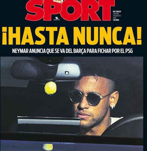 """Paye et va-t-en ! """", """" À jamais ! """" : Neymar lynché dans la presse espagnole"""