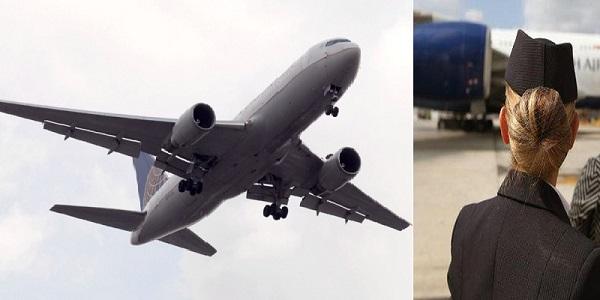 Une hôtesse attrapée en pleine partie de jambes en l'air avec un client lors d'un vol