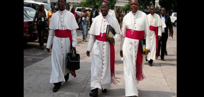 RDC: LE GOUVERNEMENT INTERDIT LA MARCHE DES LAÏCS CATHOLIQUES ET ORDONNE LA COUPURE DE L'INTERNET