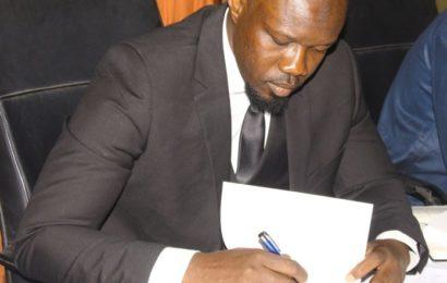 """Ousmane Sonko : """"j'ai voulu poser un débat de fond sur la gestion d'une ressource qui appartient à tous les Sénégalais"""