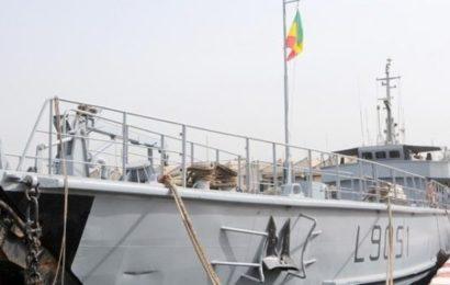 le Sénégal déploie un navire de l'armée à la frontière maritime Mauritanienne