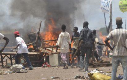 Guinée: Protestation antigouvernementale