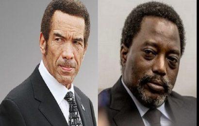 Rdc : Le Botswana Appelle A La Démission De Joseph Kabila