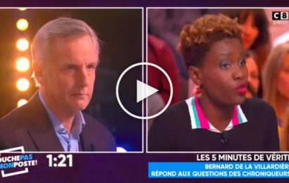 France: Taxé d'islamophobe, Bernard de la Villardière perd son sang froid [Vidéo]