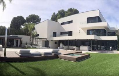 Sport: Lionel Messi vit dans une grande maison à Castelldefels