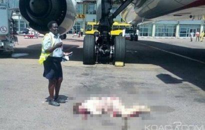 Ouganda: Une hôtesse d' Emirates se tue en chutant d'un avion à l'aéroport d' Entebbe
