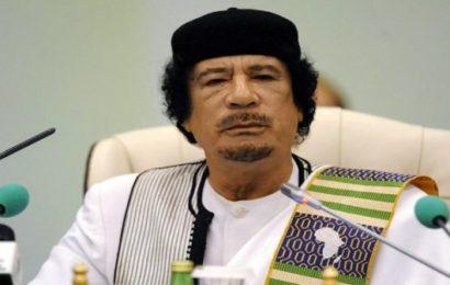 Libye: 10 milliards d'euros de Kadhafi ont disparu des comptes en Belgique