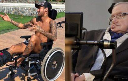PSG: L'hommage de Neymar au scientifique Hawking suscite la polémique