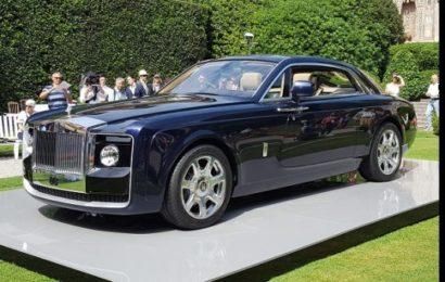 Découvrez la Rolls-Royce Sweptail, la voiture la plus chère au monde (vidéo)