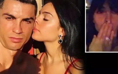 People: La petite amie de Cristiano Ronaldo dévoile son adorable bague de fiançailles (photo)
