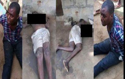 Nigeria: Il bat sa mère à mort en se fiant à une prophétie (photos)