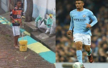 Gabriel Jesus: L'histoire fascinante d'un peintre devenu footballeur