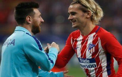 """Messi : """" Griezmann est un grand joueur on pourrait bien s'entendre"""