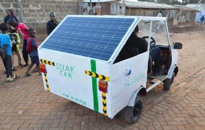 Un Africain invente une voiture sans pollution [Photos]