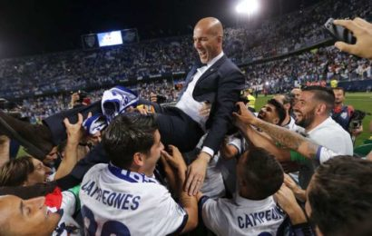 Officiel : Zinedine Zidane annonce son départ du Real Madrid