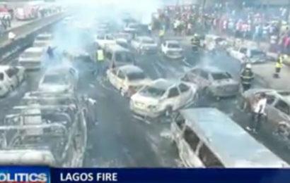 Nigéria : un pétrolier explose sur le pont de Lagos Otedola, plusieurs morts (Vidéo choc)