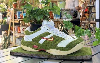 Ce jardinier recycle ses chaussures de sport d'une manière très…originale ! (vidéo)