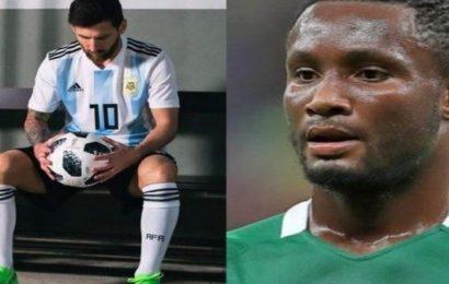 Argentine-Nigeria : Mikel Obi s'en prend à Messi et promet une revanche