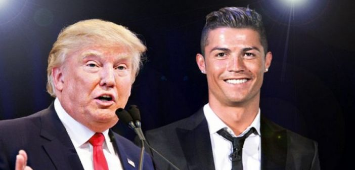 La Blague de Donald Trump sur Cristiano Ronaldo qui fait un grand buzz