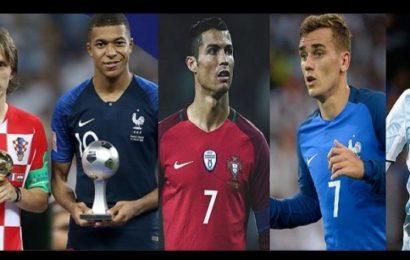Modric, Mbappé, Ronaldo, Griezmann, Messi, Découvrez le futur ballon d'Or