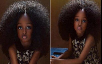 Nigeria: Voici Jare, «la plus belle fille du monde» âgée de 5 ans (photos)