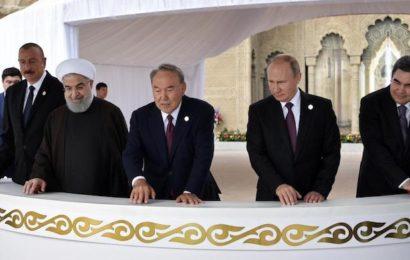 Mer Caspienne: les pays riverains signent un accord historique