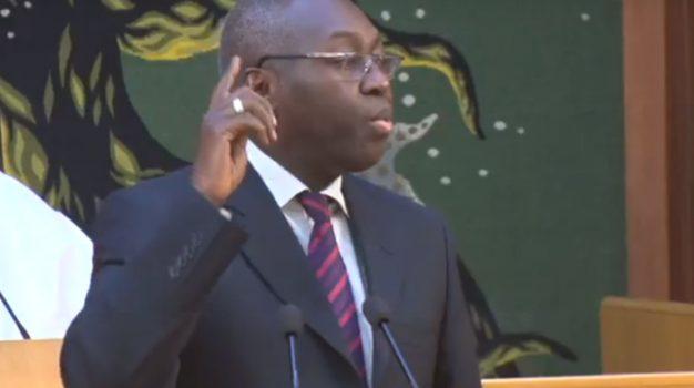 PUDC : Mamadou Lamine Diallo révèle une dette de 26 milliards de francs Cfa