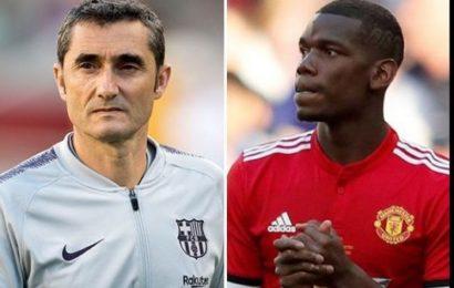 Football: Paul Pogba au Barça? Ernesto Valverde apporte des précisions