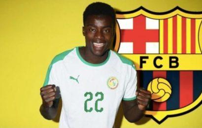 Equipe nationale: Moussa Wagué absent de la prochaine liste d'Aliou Cissé
