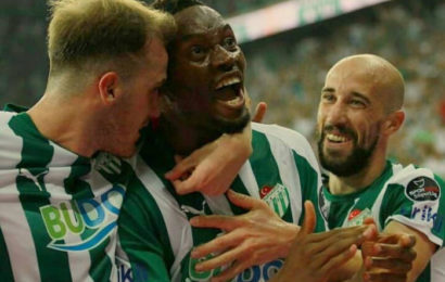Diafra Sakho marque son premier but avec Bursaspor