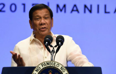 Le Président philippin Rodrigo Duterte confesse son plus grand péché