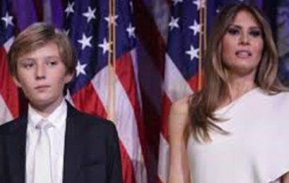 Etats Unis: Melania Trump fait des confidences sur son fils Barron