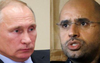 Présidentielle en Libye: La lettre de Saïf Kadhafi à Vladimir Poutine