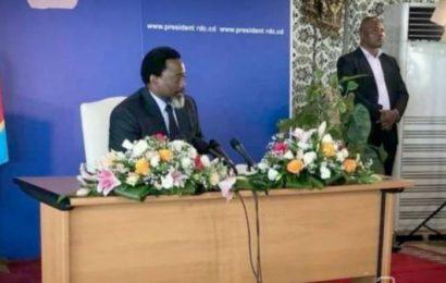 RDC : « Mon successeur aura surtout besoin de dignité », Joseph Kabila