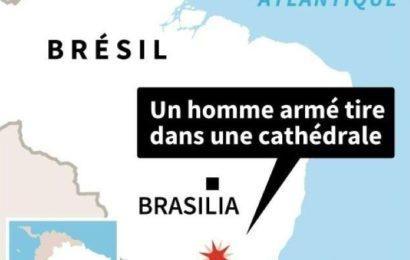 Brésil: un homme tue 5 fidèles dans une église avant de se suicider