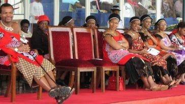 Découvrez les 15 belles épouses du roi Mswati III  [photos]