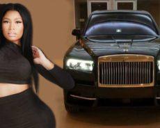 Après Cristiano Ronaldo, Nicki Minaj s'offre le nouveau Rolls Royce Cullinan (Vidéo)