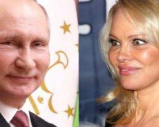 Russie: Le message de Pamela Anderson à Vladimir Poutine
